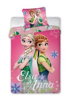 Mówisz i Masz, Frozen, Pościel dziecięca, 2-elementowa, 140x200, 70x90 cm-Faro