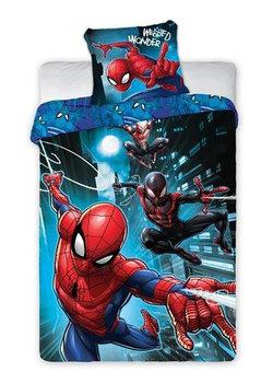 Mówisz i Masz, Pościel bawełniana, Spider Man, 140x200 cm, komplet 2 - elementowy-Mówisz i Masz