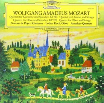 Mozart: Clarinet Quintet, Oboe Quartet-Amadeus Quartet