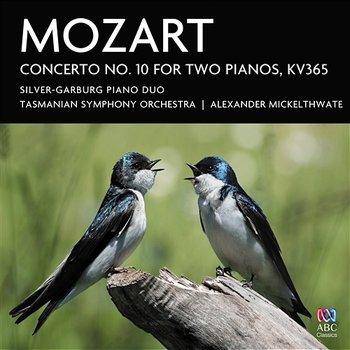 Mozart: Concerto No. 10 For Two Pianos, KV365-Silver-Garburg Piano Duo, Tasmanian Symphony Orchestra, Alexander Mickelthwate