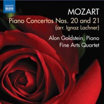 Mozart: Piano Concertos Nos. 20 And 21-Goldstein Alon, Fine Arts Quartet