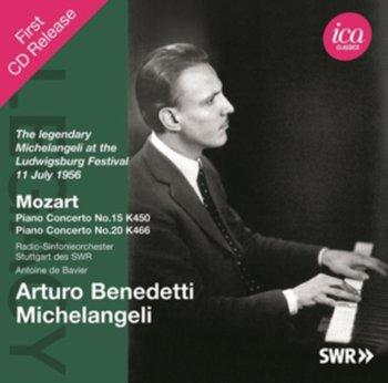 Mozart: The legendary Michelangeli at the Ludwigsburg Festival-Benedetti Michelangeli Arturo, Radio-Sinfonieorchester Stuttgart des SWR