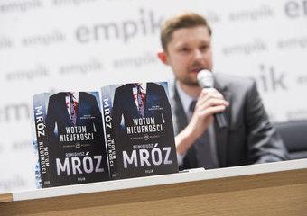 Spotkanie z Remigiuszem Mrozem i premiera nowej książki
