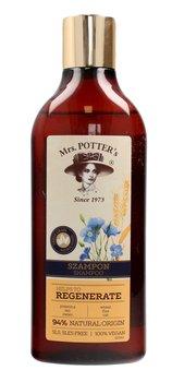 Mrs. Potter's, Triple Grain, szampon do włosów zniszczonych Regenerate, 390 ml-Mrs. Potter's