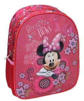 MST Toys, Myszka Minnie, plecak dziecięcy Minnie, 3D, różowy-MST Toys