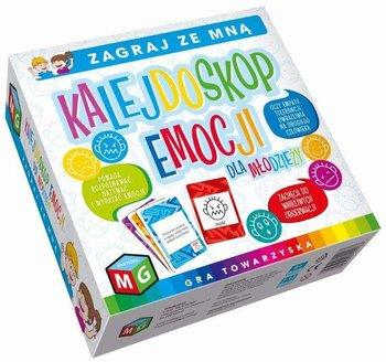Multigra, gra edukacyjna Kalejdoskop Emocji dla Młodzieży, Nauka Emocje-MULTIGRA