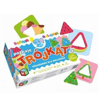 Multigra, puzzle, Słonik Balonik, Poznaję trójkąt -MULTIGRA