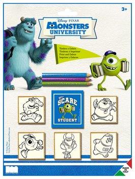Multiprint, Monsters University, zestaw pieczątek-Multiprint