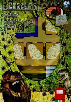 Multiprint, pieczątki Dinozaur, zestaw-Multiprint