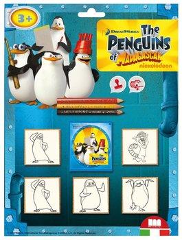 Multiprint, zestaw pieczątek Pingwiny-Multiprint