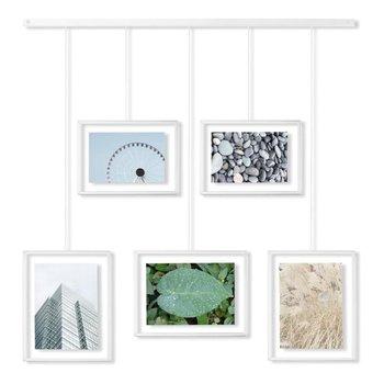 Multiramka na zdjęcia (biała) Exhibit Umbra Umbra-Umbra