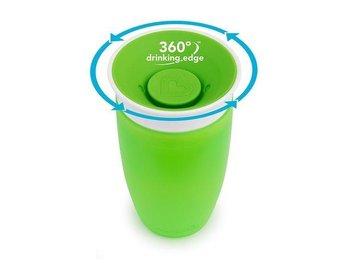 Munchkin Kubek 360, 296 Ml Zielony Em-Munchkin