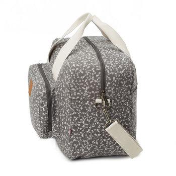 My Bag's, Maternity Bag My Liberty Flowers, Torba, Dark Grey-My Bag's