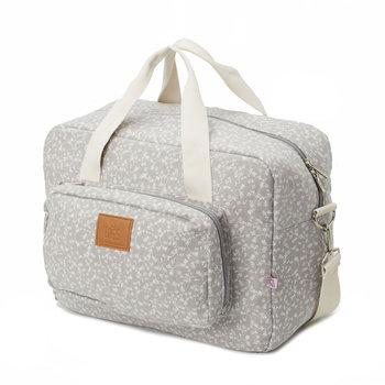 My Bag's, Maternity Bag My Liberty Flowers, Torba, Light Grey-My Bag's