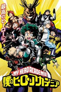 My Hero Academia - plakat 61x91,5 cm-GBeye