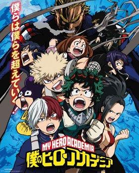 My Hero Academia Sezon 2 - plakat 40x50 cm-GBeye
