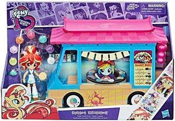 My Little Pony, Equestria Girls Minis, figurka Sunset Shimmer i Sushi Truck-My Little Pony