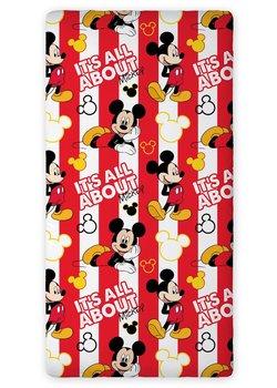Myszka Mickey, Prześcieradło z gumką, 90x200 cm-Faro