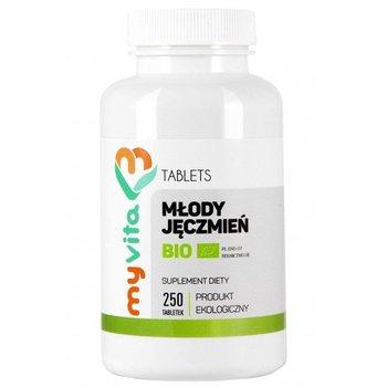 MyVita, młody zielony jęczmień Bio 500mg, 250 tabletek-MyVita