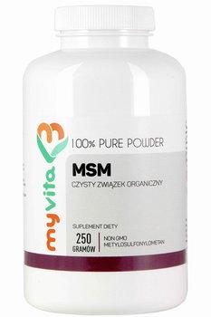 MyVita, MSM organiczny związek siarki proszek, 250 g-MyVita