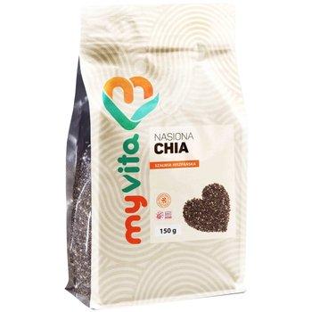 Myvita Nasiona Chia 150G Obniżają Ciśnienie-MyVita