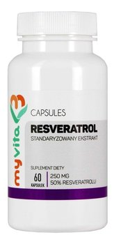 MyVita, suplement diety Resveratrol 50%, 60 kapsułek-MyVita
