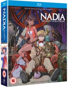 Nadia - The Secret of Blue Water: Complete Collection (brak polskiej wersji językowej)-Higuchi Shinji, Anno Hideaki