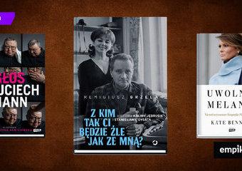 Najlepsze biografie i wywiady wśród jesiennych premier. Fascynujące, wnikliwe i odkrywcze