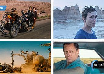 "Najlepsze filmy drogi – ""Nomadland"", ""Easy Rider"" i inne"