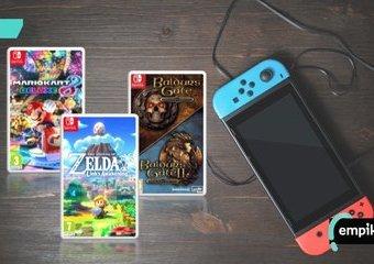 Najlepsze gry na Nintendo Switch