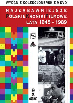 Najzabawniejsze Polskie Kroniki Filmowe. Lata 1945-1989-Różni