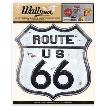 Naklejka dekoracyjna ROUTE US 66 -Argus