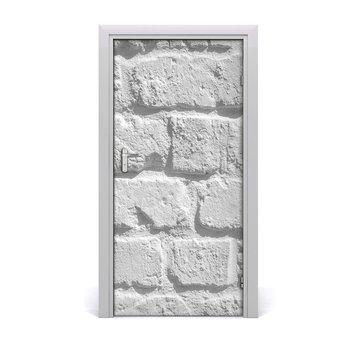 Naklejka fototapeta na drzwi Ceglana ściana, Tulup-Tulup
