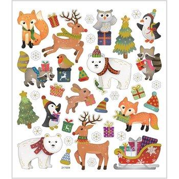 Naklejki bożonarodzeniowe, Zwierzęta-Creativ Company A/S