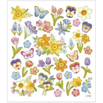 Naklejki, Kwiaty wiosenne-Creativ Company A/S