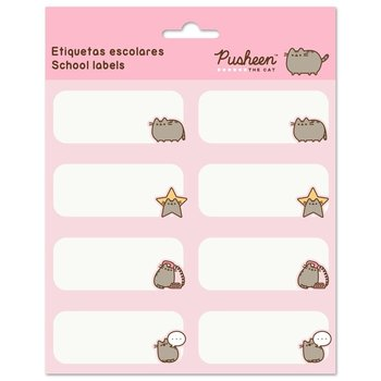 Naklejki szkolne, Pusheen, Rose Collection  - Pusheen
