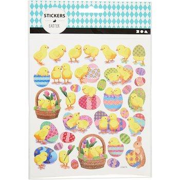 Naklejki, Wielkanocne kurczaczki-Creativ Company A/S