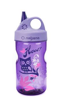 Nalgene, Butelka dla dzieci Grip-n-Gulp, fioletowa, 350 ml-Nalgene