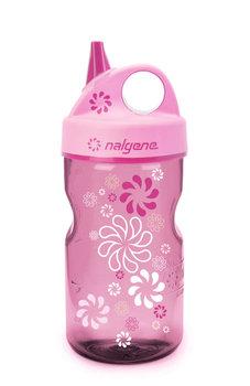 Nalgene, Butelka dla dzieci Grip-n-Gulp, różowa, 350 ml-Nalgene