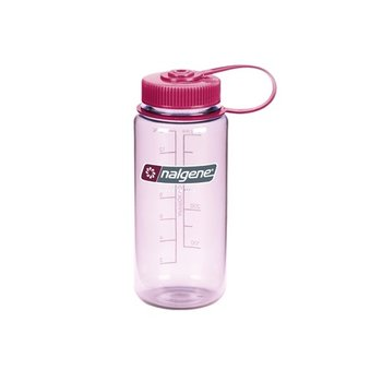 Nalgene, Butelka Wide Mouth, 500 ml, różowy-Nalgene