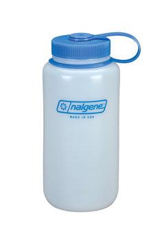 Nalgene, Butelka, Wide-Mouth Round Loop-Top Bottle, niebieski, 1 l-Nalgene