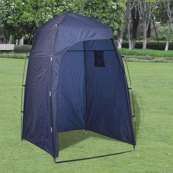 Namiot prysznic/WC/przebieralnia, niebieski-vidaXL