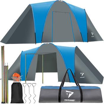 Namiot Turystyczny dla 6 Osób + Przedsionek 6000mm-Trizand