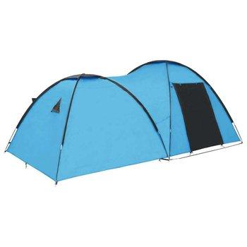 Namiot turystyczny typu igloo, 450x240x190 cm, 4-os., niebieski-vidaXL