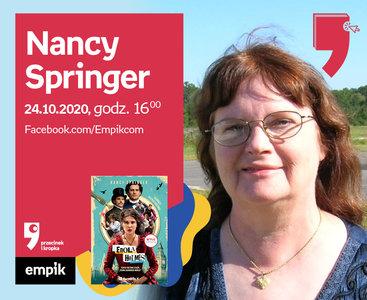Nancy Springer – Spotkanie | Wirtualne Targi Książki. Przecinek i Kropka