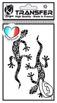 Naprasowanka mini Czarna Salamandry, arkusz-Ki-Sign