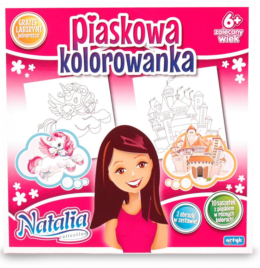 Natalia Kolorowanka Piaskowa Natalia Sklep Empik Com