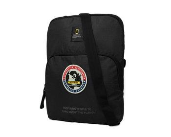 National Geographic, Torba na ramię, Explorer, czarny, 23x2.5x28 cm-National geographic