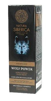 Natura Siberica, Men, krem do twarzy tonizujący Wolf Power, 50 ml-Natura Siberica