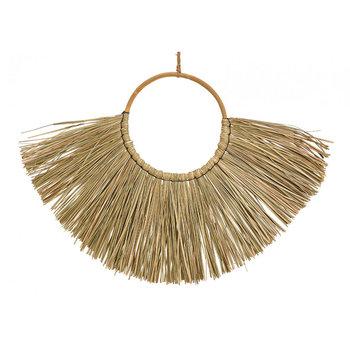 Naturalna dekoracja ścienna z trawy morskiej 65 cm-Wurm